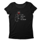 If cats could talk to cops… – tailliertes Shirt