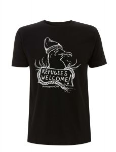 Refugees Welcome - #wirsagenMOIN (Möwe) – T-Shirt