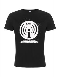Tag (((i))) - fight the power – SOLI – T-Shirt