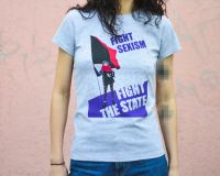 Fight Sexism – tailliertes Shirt