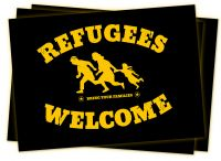 Refugees Welcome Plakat(e) web