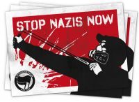 Stop Nazis Now Plakat(e) web