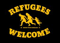 Refugees Welcome Plakat(e)