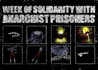 Week of Solidarity With Anarchist Prisoners – Postkarte
