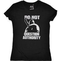Do not question authority! – tailliertes Shirt