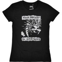 From Protest to Resistance – tailliertes Shirt