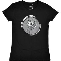 Stop Vivisection! – tailliertes Shirt