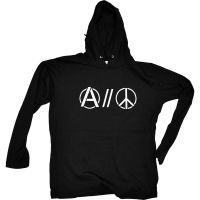 Anarchy // Peace – Kapu-Longsleeve
