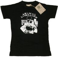 Animal Liberation (Dog) – Shirt (waist fitted) (remaining stock)