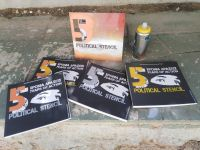 5 Years of Action – Political Stencil