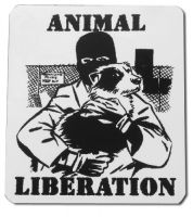Animal Liberation PVC-Aufkleber
