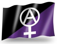 Anarchafeminism – Flag
