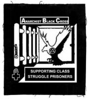Anarchist Black Cross Aufnäher