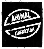 Animal Liberation (2) Aufnäher