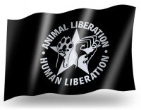 Animal Liberation Fahne