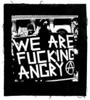 We are fucking Angry! Aufnäher