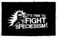 It's time to fight Speciesism Aufnäher