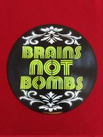 Brains not Bombs – Plattenkunst / Upcycling