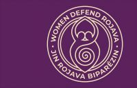 Women Defend Rojava – Fahne