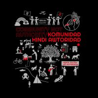 Community not Authority - Komunidad hindi Awtoridad – SOLI – T-Shirt