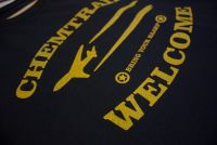 Chemtrails Welcome – fairtrade – T-Shirt
