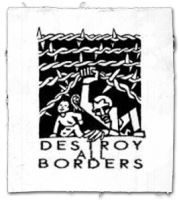 Destroy all Borders Aufnäher