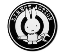Direct Action – PVC-Aufkleber