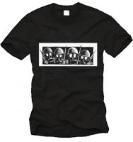 Drooker - Gasmasks T-Shirt