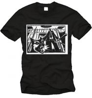 Drooker - Police Dog T-Shirt