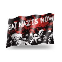 Eat Nazis Now – Fahne