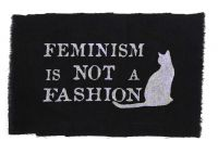 Feminism is not a fashion – Aufnäher