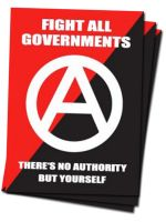Fight All Governments 40 Aufkleber