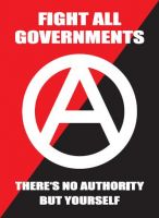Fight All Governments – 40 Aufkleber