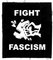 Fight Fascism! Aufnäher