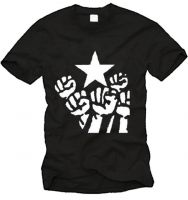 Fists + Star T-Shirt