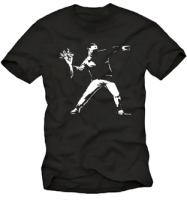 Flower Thrower Banksy – T-Shirt