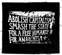 For Anarchism Aufnäher