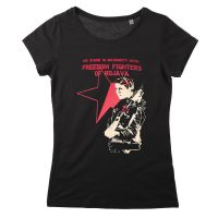 Solidarity with Freedom Fighters of Rojava (Soli) tailliertes T-Shirt