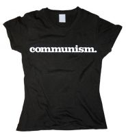 Communism. (Gross) – tailliertes Shirt