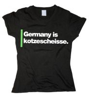 Germany is kotzescheisse. – tailliertes Shirt