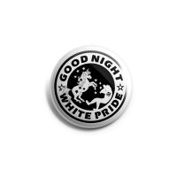 Good Night White Pride (Einhorn) Button