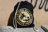 Good Night White Pride (Einhorn) Sportbeutel (gold)