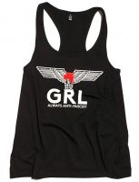 GRL - always anti-fascist – Tanktop