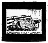 Homelessness is not a Coincidence Aufnäher