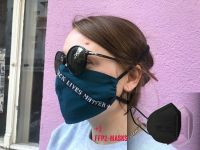 <p> <strong> In addition to the fabric mask, we now provide you with an FFP2 mask in black and pink. </strong> </p>