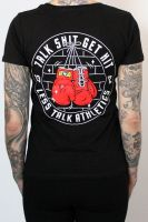 Talk Shit - Get Hit – tailliertes Shirt