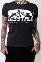 Less Talk - Punch – tailliertes Shirt