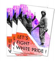 Let's Fight White Pride! – 40 Stickers