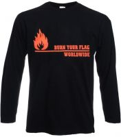 Burn your Flag Longsleeve
