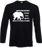 Circuses are no fun - for animals Longsleeve